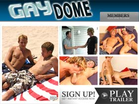 Welcome to Gay Dome - Tons of Hot Studs engaging in gay sex and gay porn!