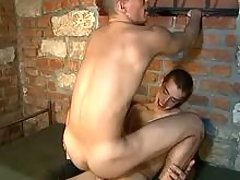 Harsh anal of young military dudes