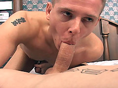 TommyD having some nice blowjob and stroking fun with friend
